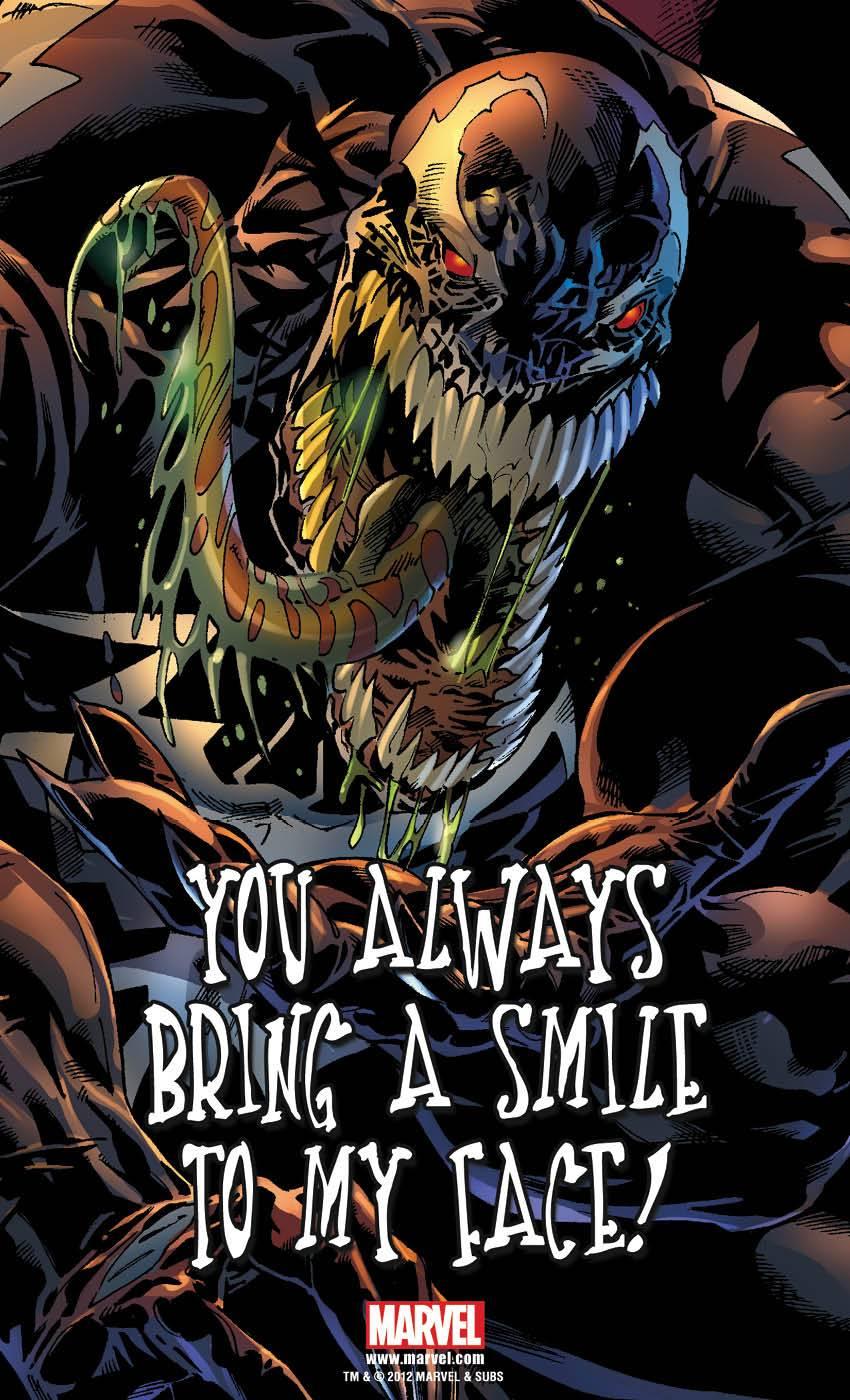 venompostcard3 ComicList: Marvel Comics for 02/15/2012