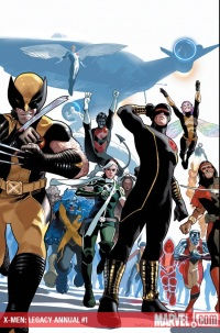 xmenlegacyannual1 ComicList: Marvel Comics for 09/16/2009