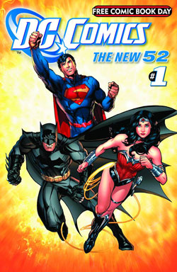 117661_391772_2 Contents of DC COMICS THE NEW 52 Free Comic Book Day edition announced