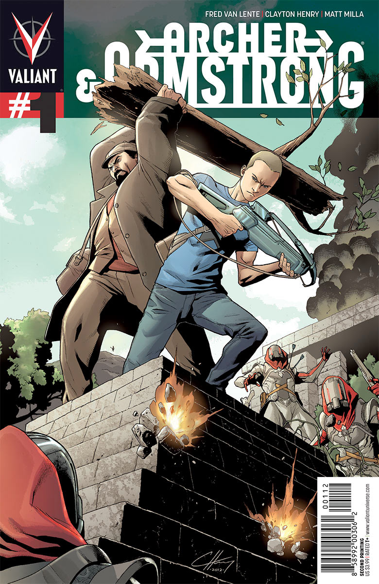 1344009816 ARCHER AND ARMSTRONG #1 returns with 2nd printing