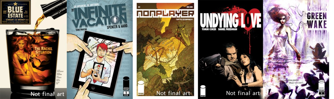2ndptgcovers Five more Image titles sell out simultaneously