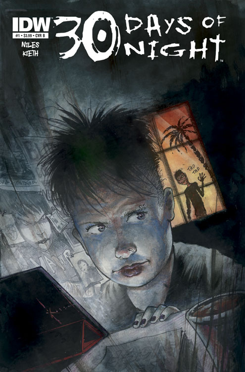 30DON_01_SamKiethcover IDW announces new 30 DAYS OF NIGHT ongoing series