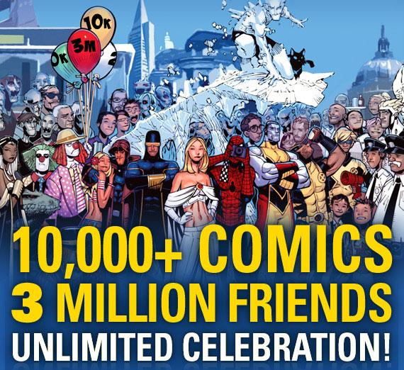 3Million_Facebook Marvel exceeds 3 million follower mark On Facebook