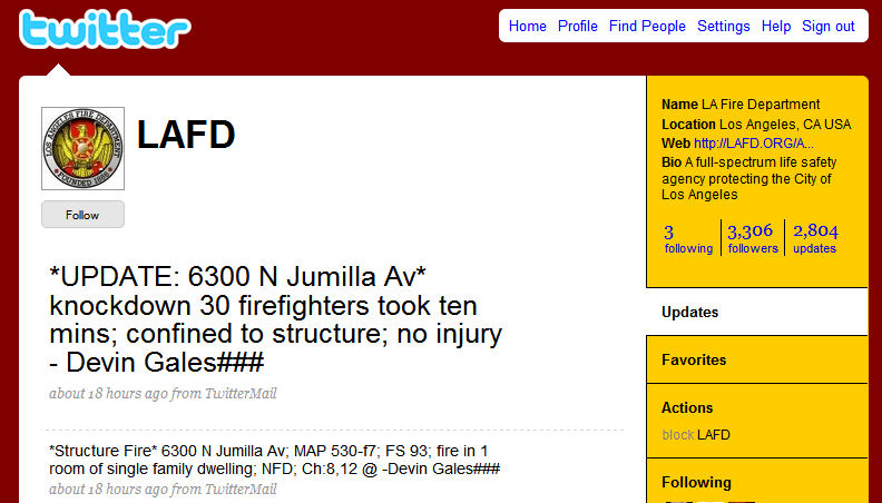 6300_jumilla Official LAFD Press Release on Wein Fire