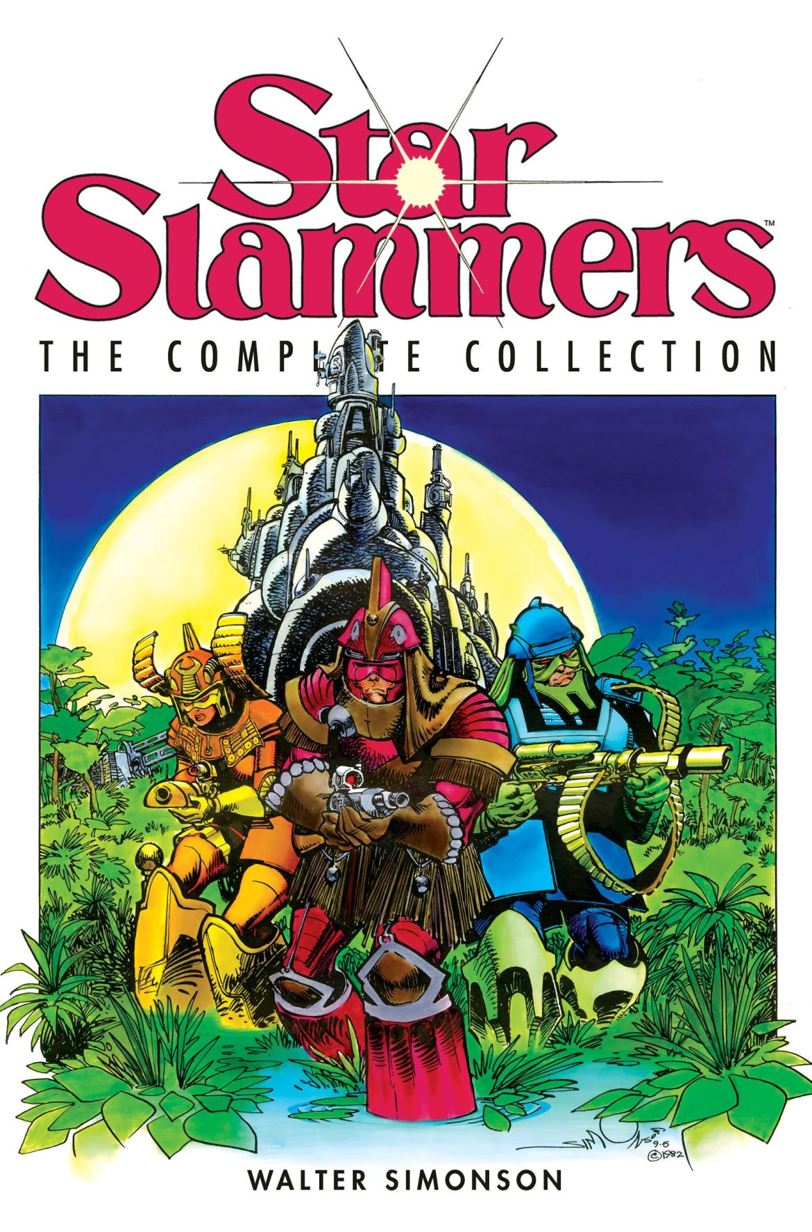 919434c3-9a31-41e4-ab0e-54f206c81022 Walter Simonson's STAR SLAMMERS captures a complete collection