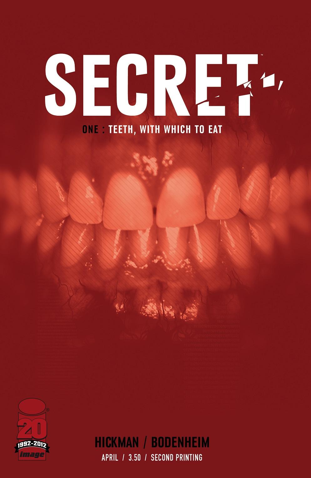 929482309971254 Jonathan Hickman's SECRET gets 2nd printing