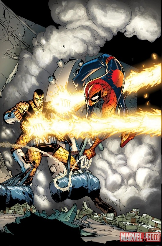 ASM669 Marvel announces major new storyline SPIDER-ISLAND