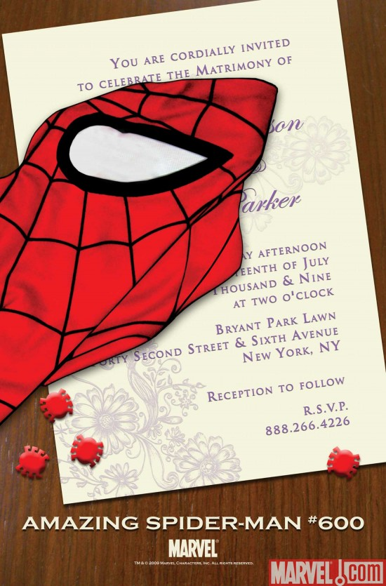 ASM_600_Teaser Who's Getting Married In Amazing Spider-Man #600?