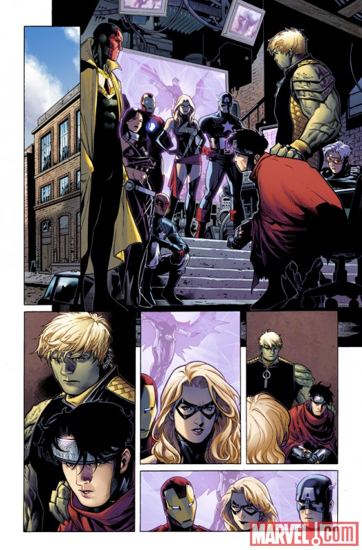 AVNCC_1_Preview7 First Look At AVENGERS: CHILDREN'S CRUSADE #1