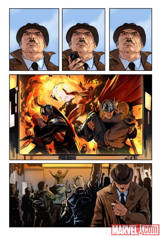 AgeofHeroes_01_Preview1 Age Of Heroes #1 ushers in a new Marvel Universe era