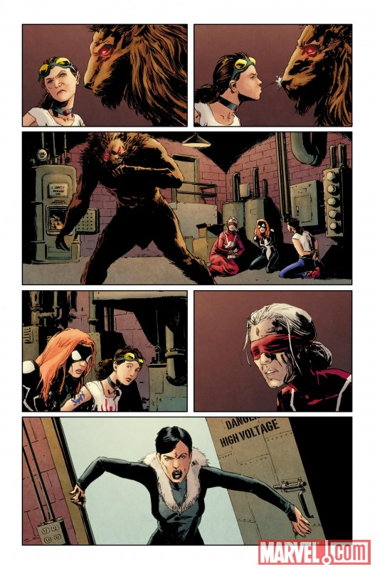 AmazingSpiderMan_637_Preview3 Discover the origin of the new Spider-Girl