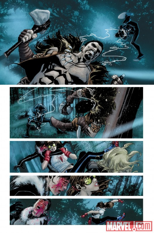 AmazingSpiderMan_637_Preview5 Discover the origin of the new Spider-Girl