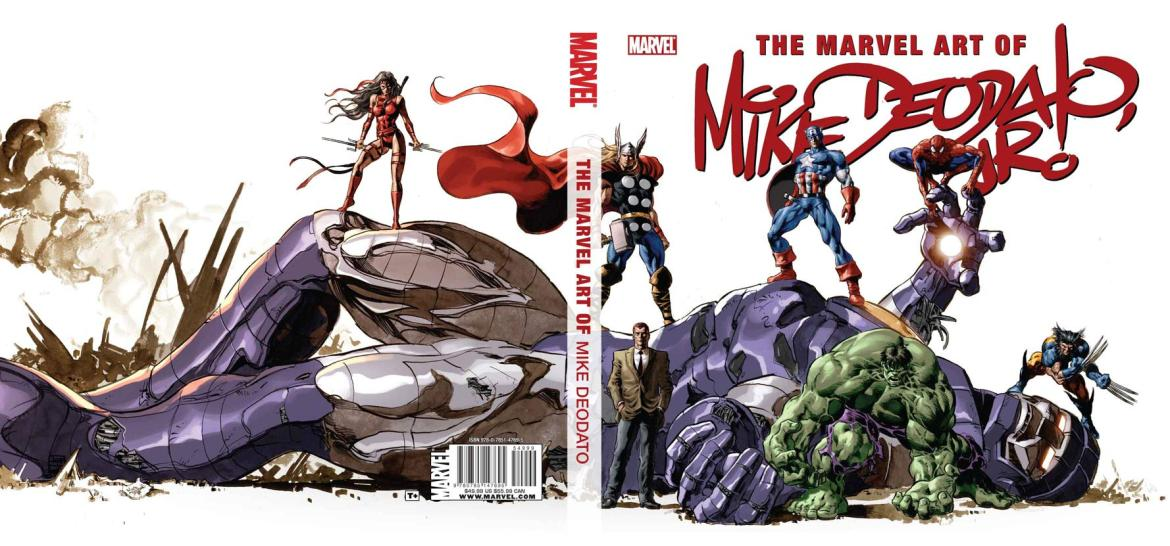 ArtOfMikeDeodato_Cover First Look At THE ART OF MIKE DEODATO HC