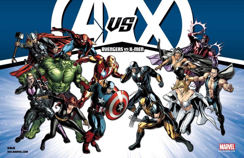 AvX_Promo_litho ComicList: Marvel Comics for 04/04/2012