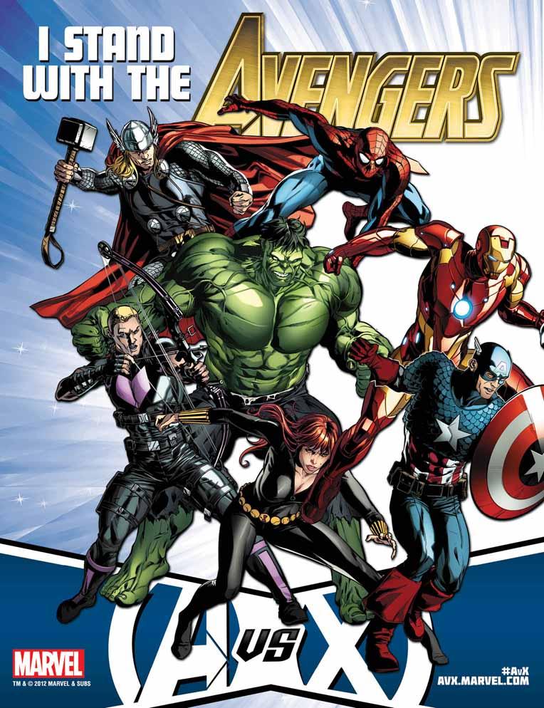 AvX_TeamPoster_Avengers ComicList: Marvel Comics for 04/04/2012