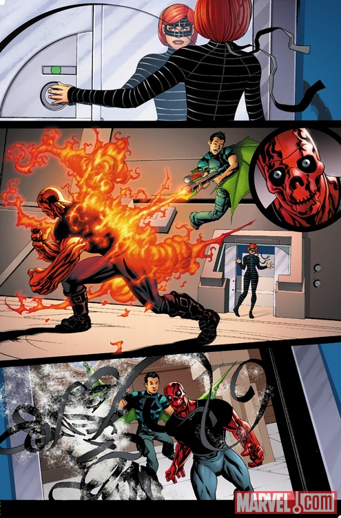 AvengersAcademy_01_preview3 First Look At AVENGERS ACADEMY #1