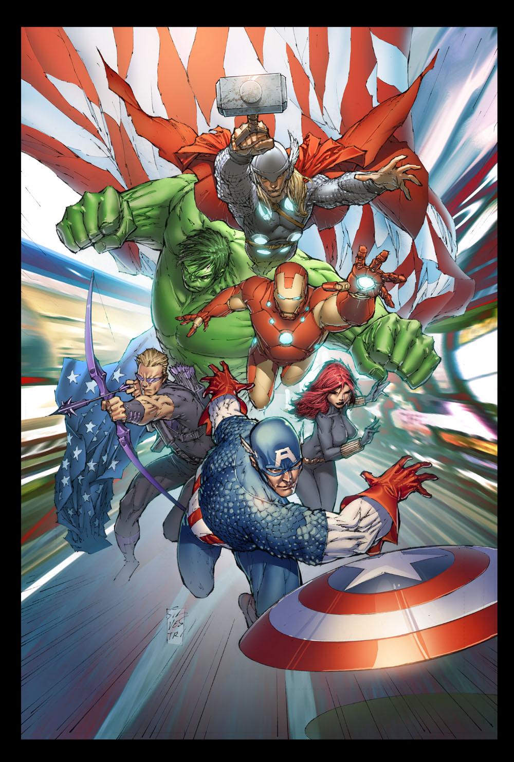 AvengersAssemble_1_SilvestriVariant ComicList: Marvel Comics for 03/14/2012