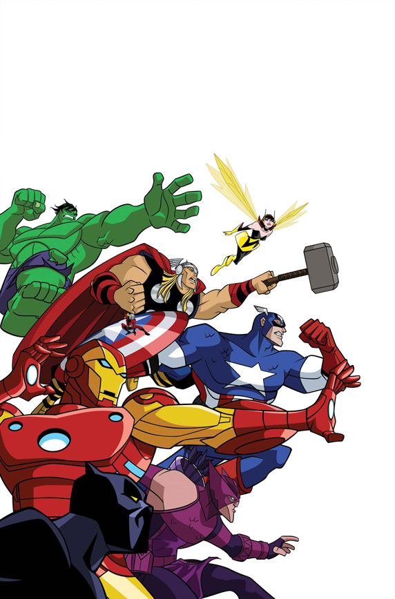 AvengersEarthsMightiestHeroesAdventures_1_Cover Marvel announces AVENGERS and SPIDER-MAN all-ages titles