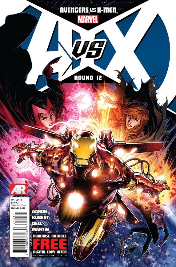 AvengersVSXMen_12_Cover First Look at AVENGERS VS. X-MEN #12