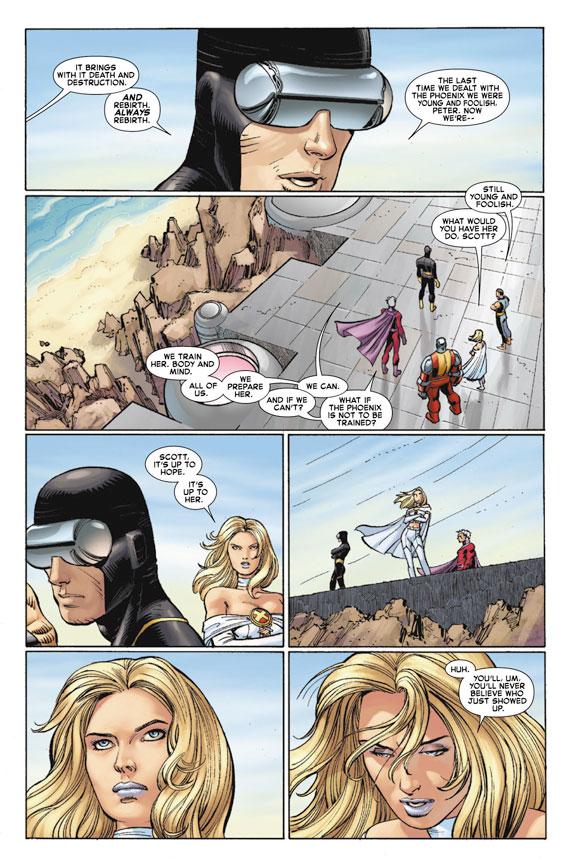 AvengersVSXMen_1_Preview6 First Look at AVENGERS VS. X-MEN #1