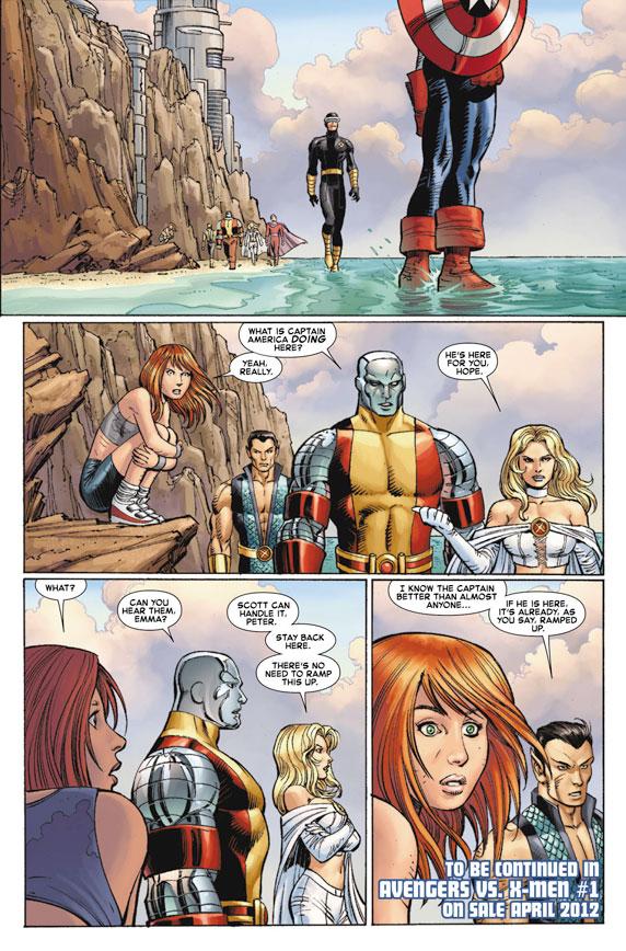 AvengersVSXMen_1_Preview7 First Look at AVENGERS VS. X-MEN #1