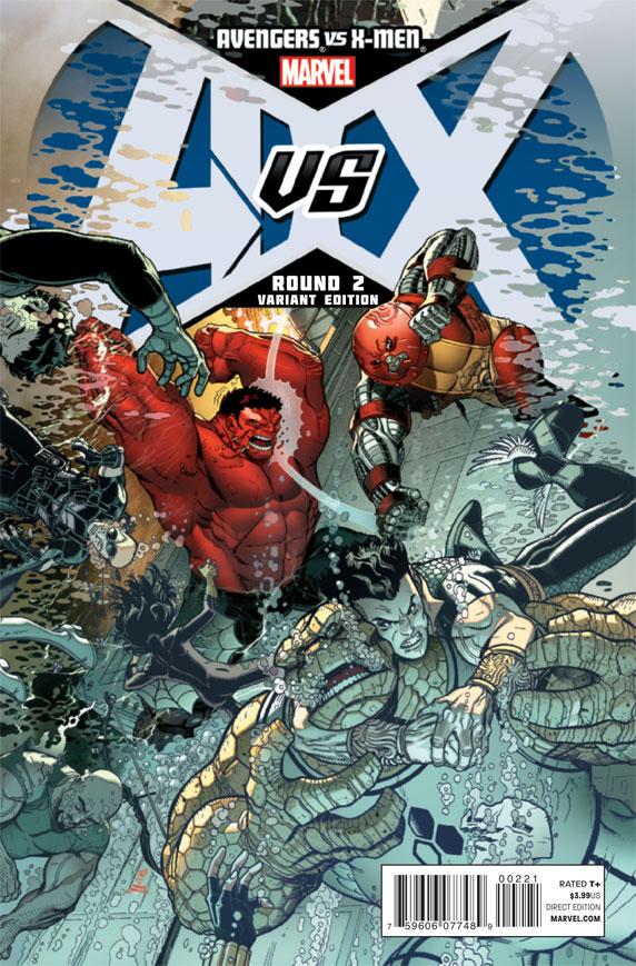 AvengersVSXMen_2_CoverBradshawVariant The battle for hope begins today in AVENGERS VS X-MEN #2