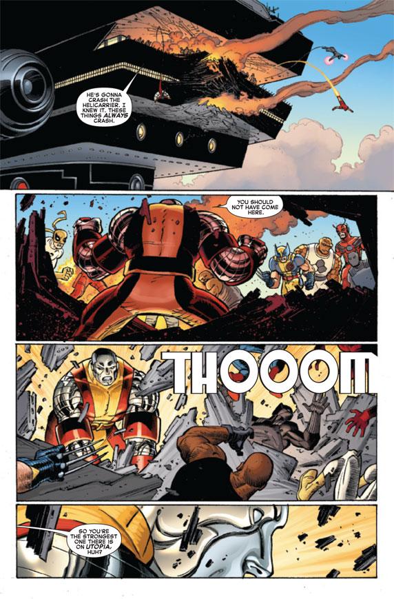 AvengersVSXMen_2_Preview3 The battle for hope begins today in AVENGERS VS X-MEN #2