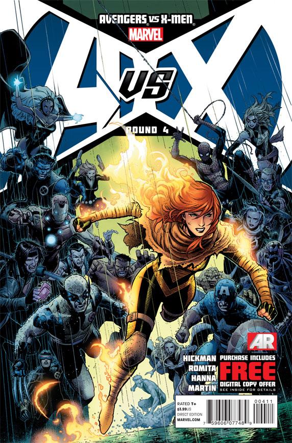 AvengersVSXMen_4_Cover First Look at AVENGERS VS. X-MEN #4