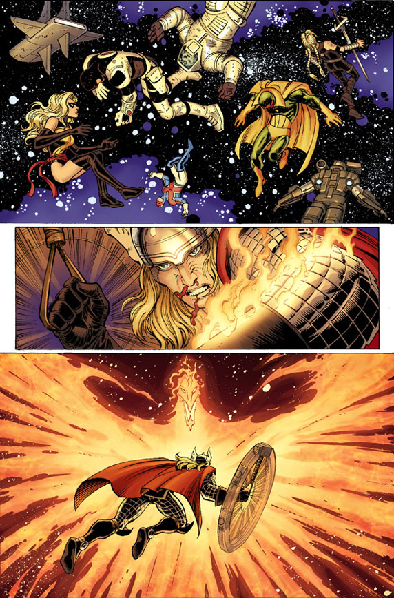AvengersVSXMen_4_Preview1 First Look at AVENGERS VS. X-MEN #4