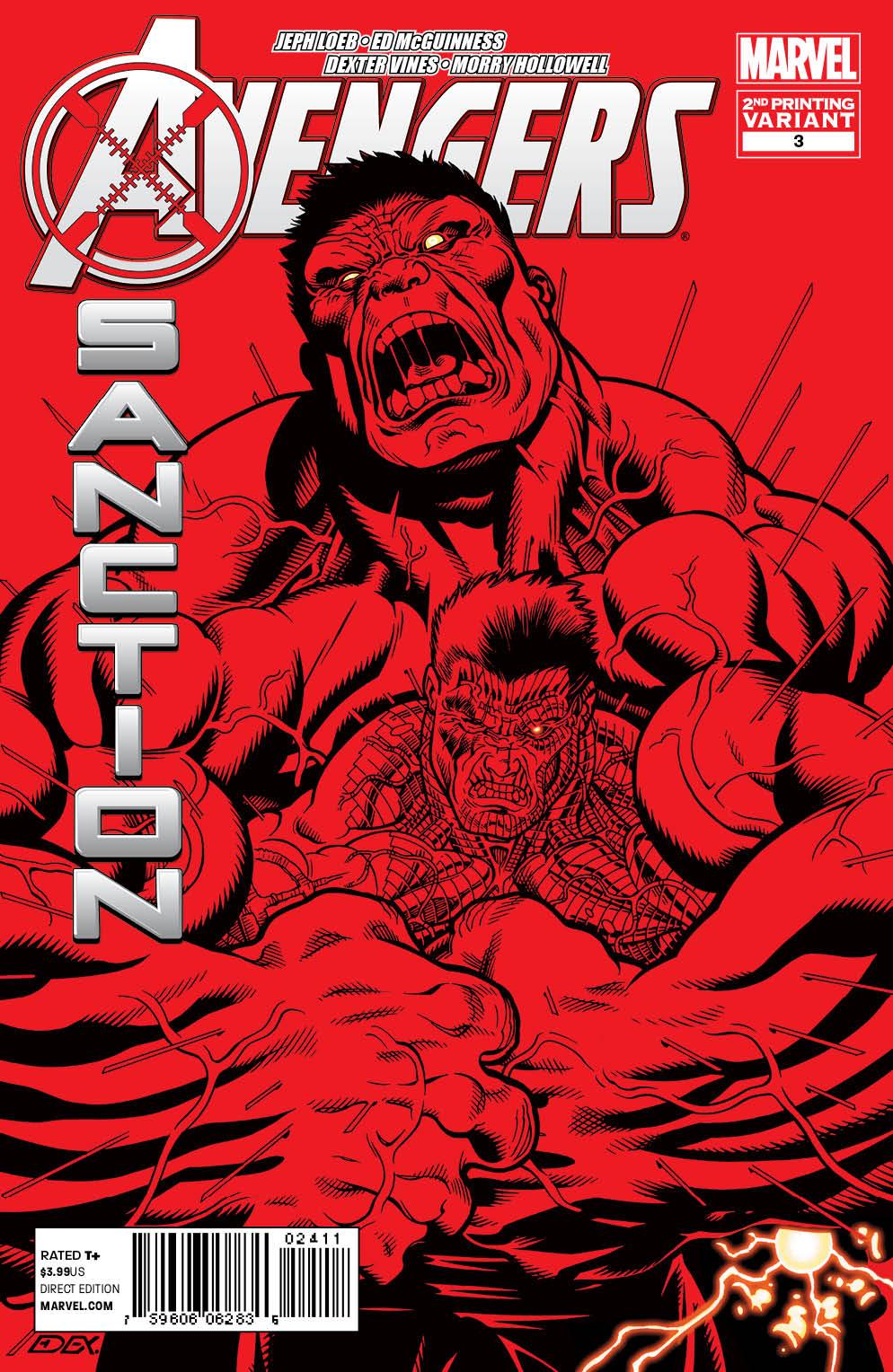 AvengersXSanction_3_SecondPrint AVENGERS: X-SANCTION #3 sells out and gets second printing