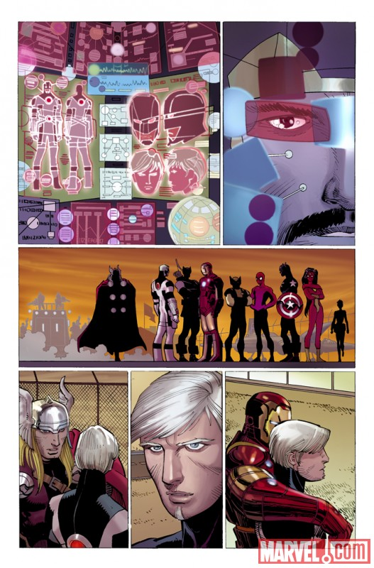 Avengers_2_Preview3 First Look At AVENGERS #2