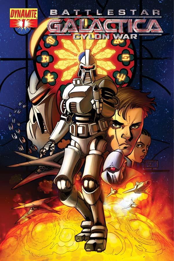 BSGCW01CovRaynor Battlestar Galactica Cylon Wars Mini Series Arriving January 2009