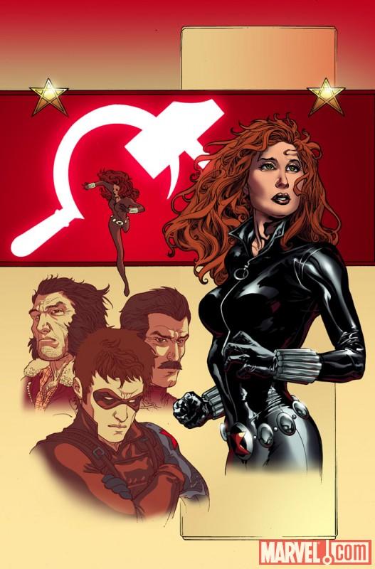 BlackWidow_DeadlyOrigin_01_SecondPrintingVatiant Black Widow Deadly Origin #1 sells out, returns with new printing