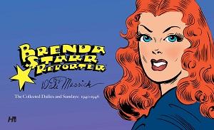 Brenda_Starr_Volume_1 BRENDA STARR returns in deluxe full color hardcover