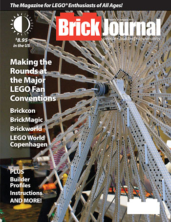BrickJournal13_MED TwoMorrows Publishing offers a free preview of BRICKJOURNAL #13