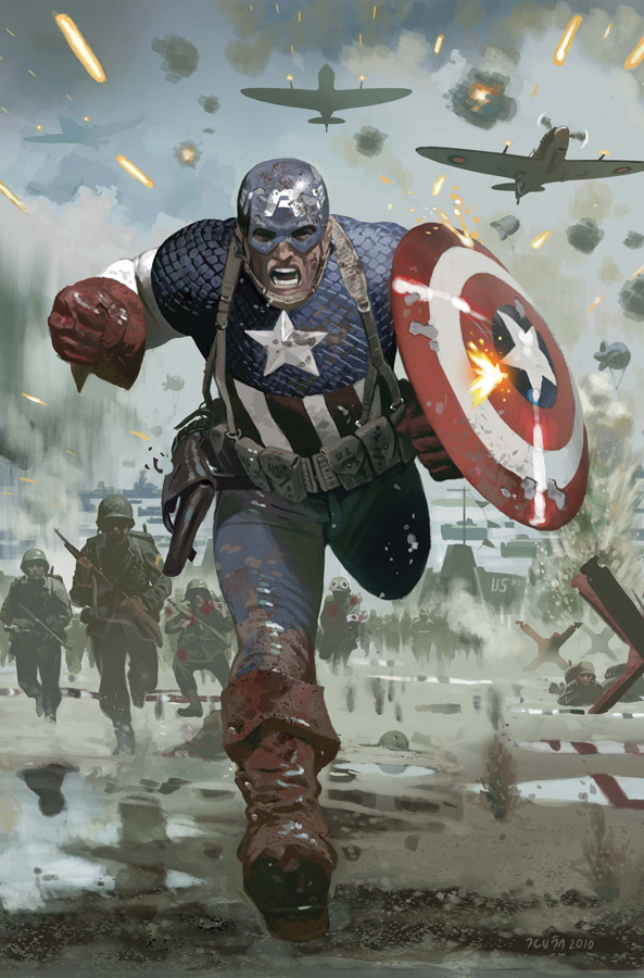 CAPA615p1_Cover Celebrate Captain America's 70th Anniversary This March