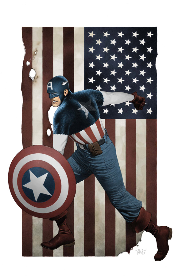CAPA616_Cover Celebrate Captain America's 70th Anniversary This March