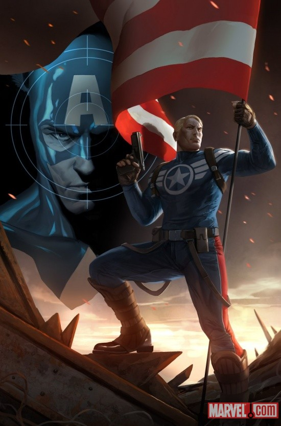CAPTAINAMERICA_617_Cover First Look At CAPTAIN AMERICA #617