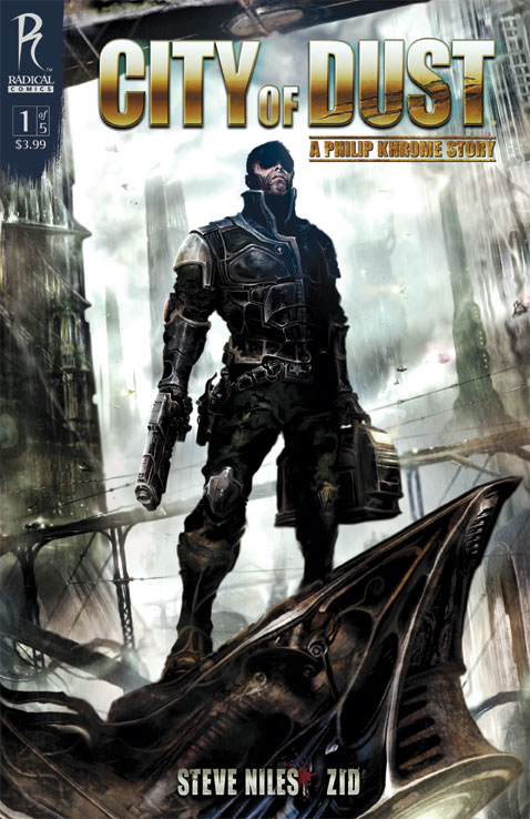 COD1_Clint-Langley_CoverC City Of Dust #1 To Feature Five Covers