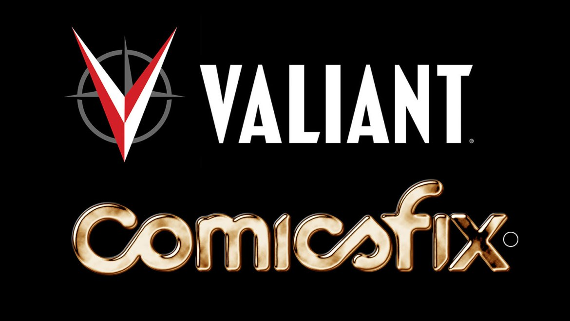 COMICSFIX_VALIANT_logos Valiant Entertainment joins ComicsFix digital comics platform