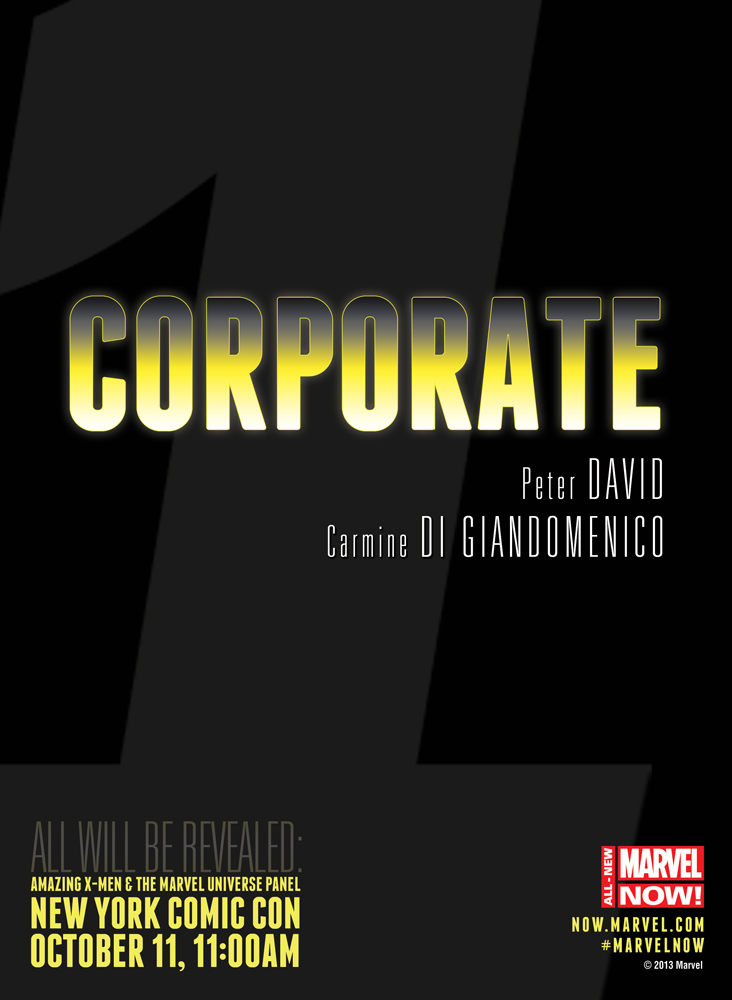 CORPORATE All-New Marvel NOW: Corporate