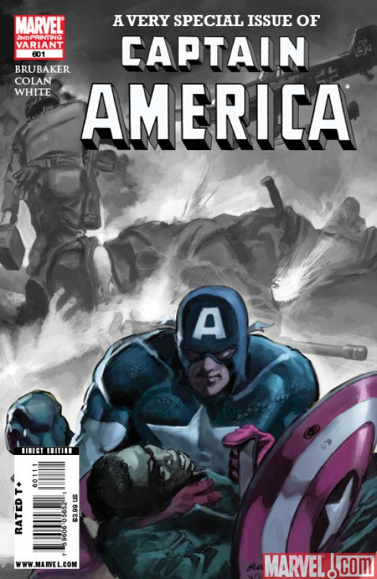 CaptainAmerica_601_SecondPrintingVariant Captain America #601 Sells Out, Returns With New Printing