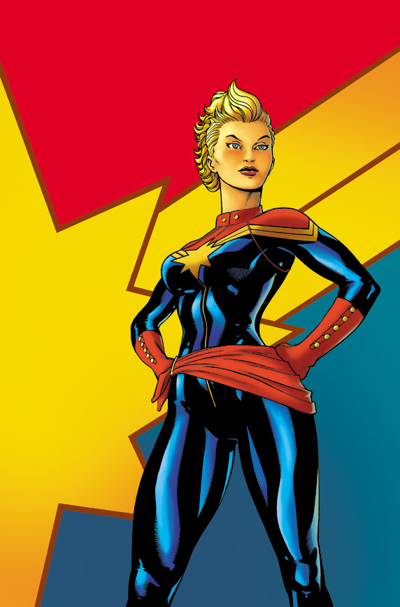 CaptainMarvel_1_Cover First Look at CAPTAIN MARVEL #1