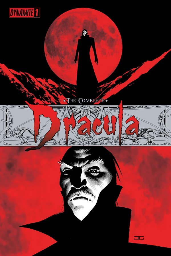 CompDrac01covers The Complete Dracula From Dynamite Entertainment
