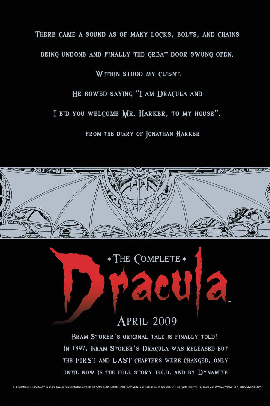 CompDracPage The Complete Dracula From Dynamite Entertainment