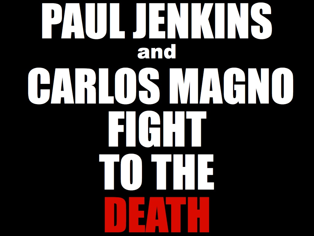 DEATH001 Paul Jenkins and Carlos Magno turn December into DEATHcember