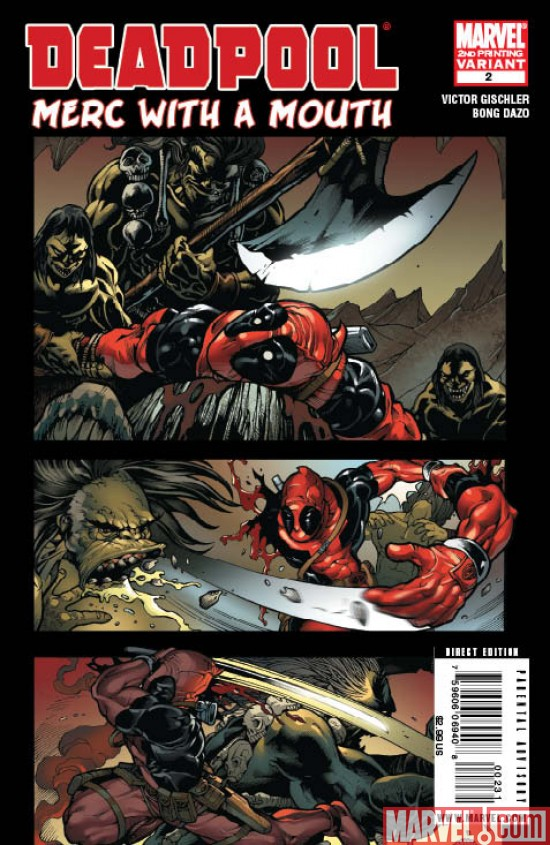 DPOOLMERC2_2nd Deadpool Merc with a Mouth #2 Sells Out, Returns with 2nd Printing