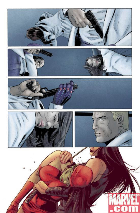 DRKELKTRA1_5 Dark Reign Elektra #1 Preview