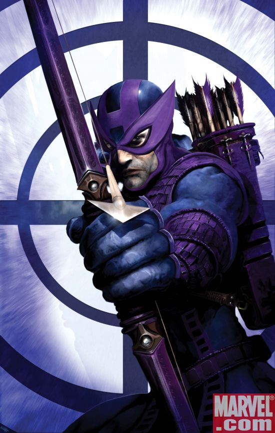 DarkReign_Hawkeye_01_Cover Dark Reign Hawkeye #1 Preview