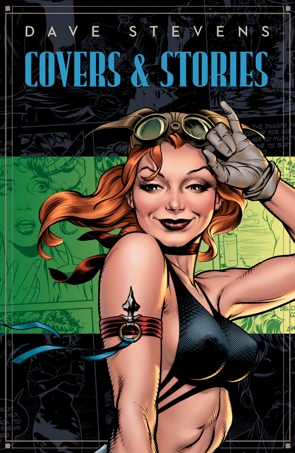 DaveStevensCoversandStories DAVE STEVENS' COVERS AND STORIES features non-Rocketeer stories